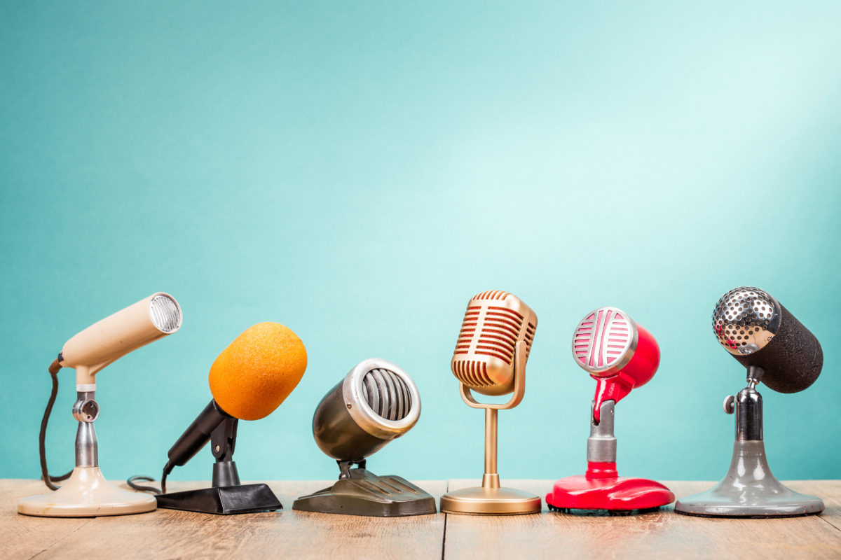 Retro speakers