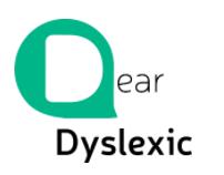Dear Dyslexia logo