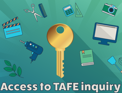 Public inquiry into access to TAFE for learners with disability