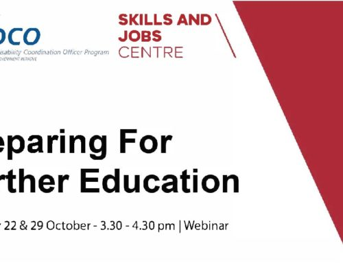 Preparing for Further education online information session