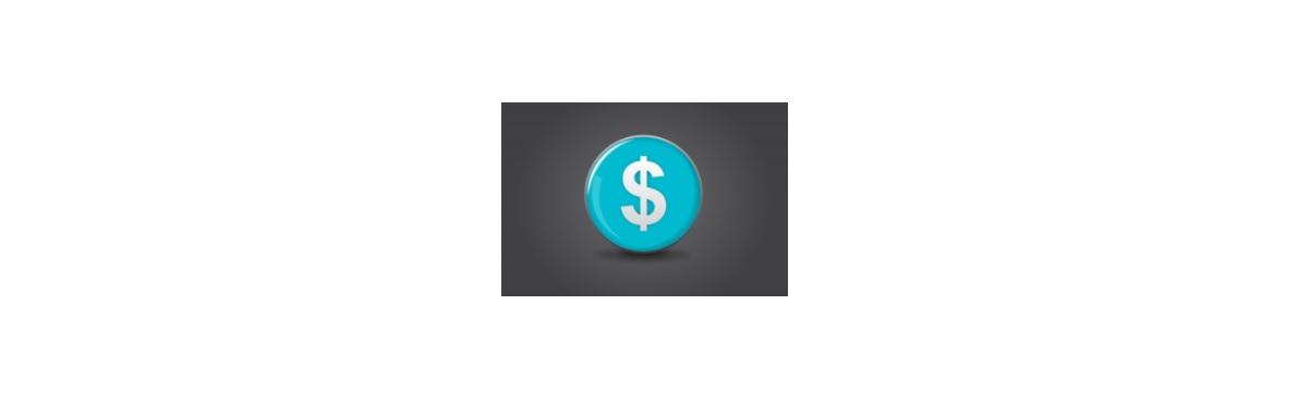 Budget dollar symbol