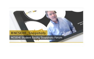 David Eckstien and NCSEHE Equity Access Forums