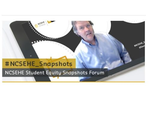 NCSEHE Student Equity Snapshots Forum — Mr David Eckstein