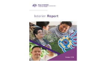 Royal Commission Interim Report October 2020