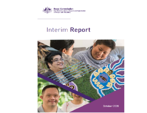 Royal Commission into Violence, Abuse, Neglect and Exploitation of People with Disability: Interim Report