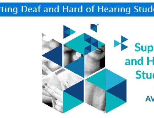 Guidelines – Supporting Deaf and Hard of Hearing Students Online