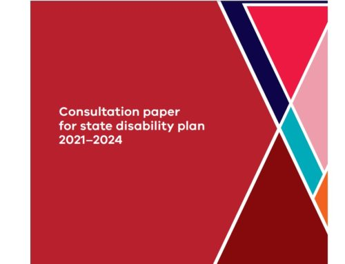 Victorian state disability plan 2021 -24- Consultations open