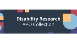 Disability Research APO collection