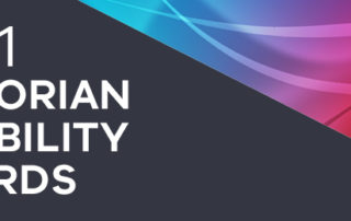 2021 Victorian Disability Awards DHHS Web banner