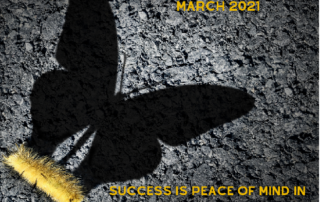 Awareness in Education March 2021- success is peace of mind knowing you did your best-John Wooden