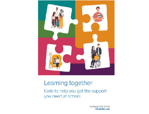 Rights based self-advocacy toolkit for students with disability accessing education.