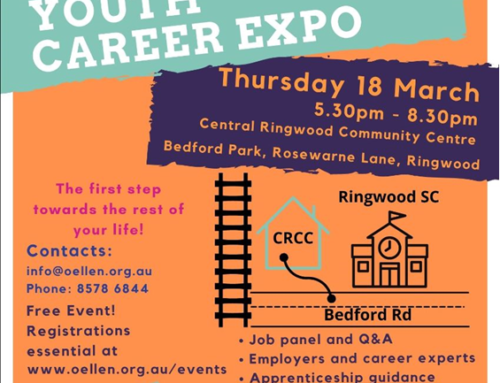 Maroondah Youth Career Expo: the first step towards the rest of your life