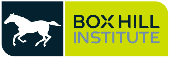 Box Hill Institute logo with whitehorse