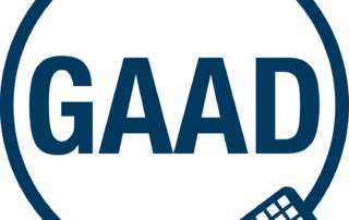 GAAD_Logo_Blue with keyboard and circle