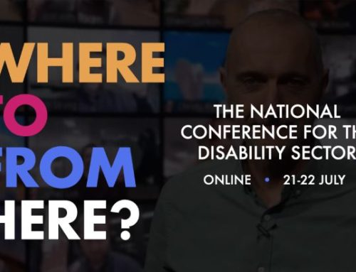 Where to from here? National Conference for the Disability Sector