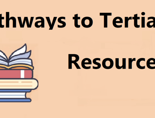 Pathways to Tertiary resources available on line
