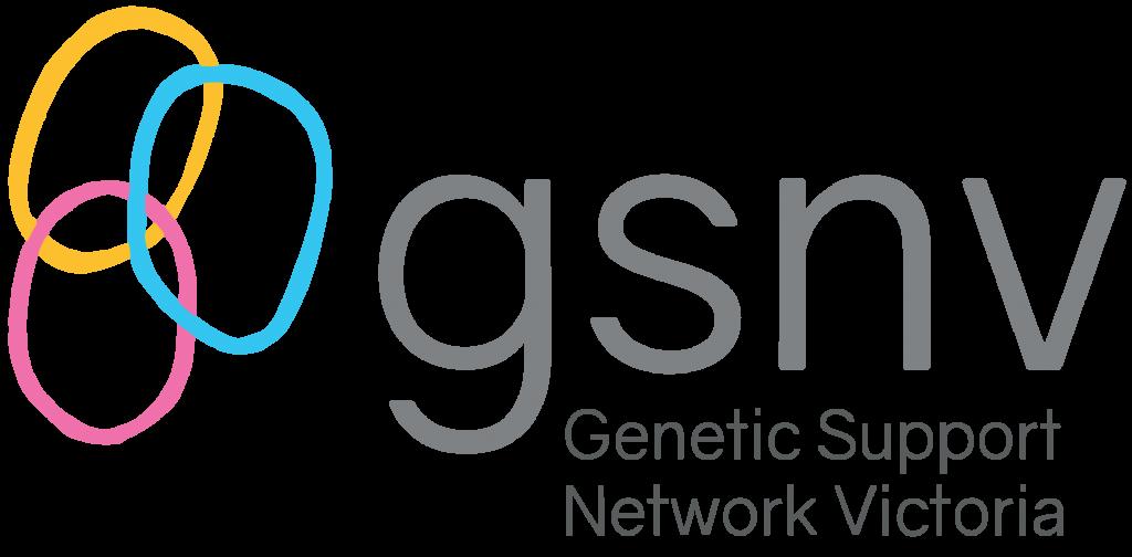 Genetic Support Network Victoria logo